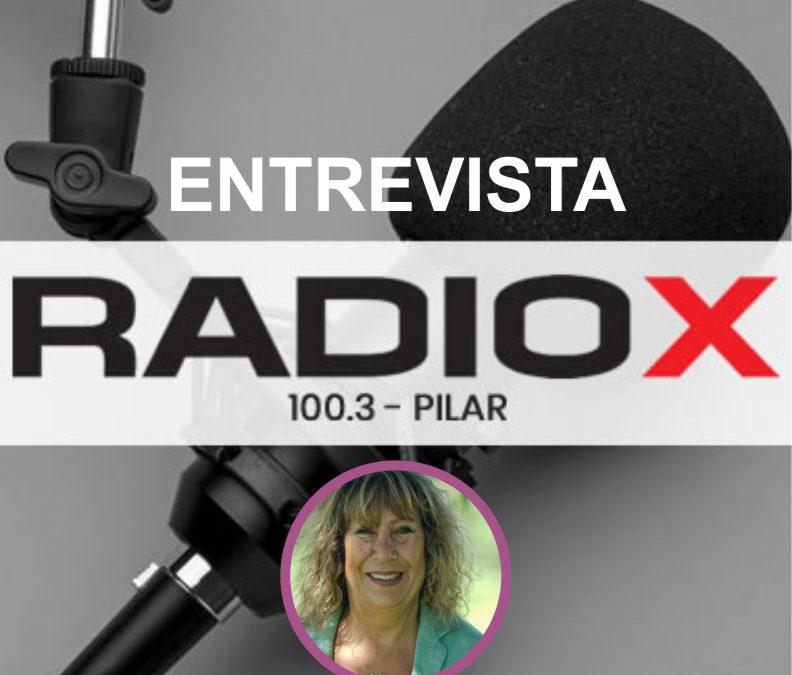 Entrevista INES HALM – 100.3 Radio X Pilar